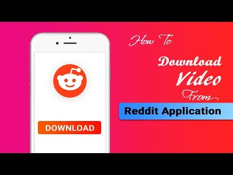 How To Download Video From Reddit Application With Audio | New ✅✅