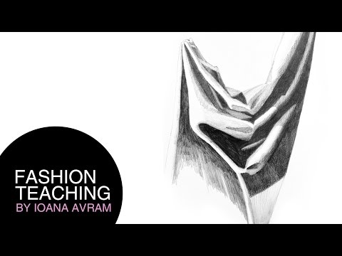 How to draw fabric wrinkles