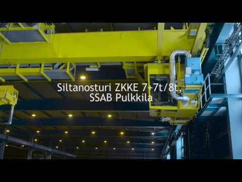 Siltanosturi ZKKE 7t/7t - Algol Technics