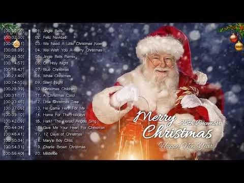 Canciones Navideñas en ingles 🎁 Feliz Navidad 2019 - 2020 🎁 La Mejor Música de Navidad 2019 - 2020