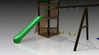 Swing-n-slide Cimarron Playset