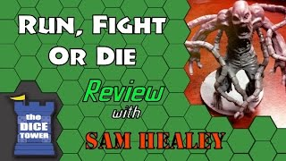 Run, Fight, or Die! Review - with Sam Healey