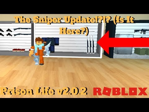 ROBLOX Prison Life v2.0.2- The Sniper Update! [Coming Soon!]