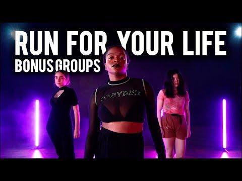 Run For Your Life BONUS GROUPS - Tiffany Young   Brian Friedman Choreography   #TMillyTV