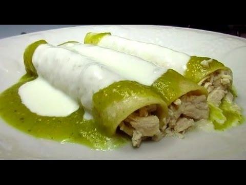 Enchiladas Suizas Recipe: Mexican Cream Sauce for Enchiladas Suizas