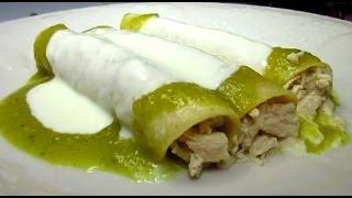 Enchiladas Suizas Recipe - Mexican Cream Sauce for Enchiladas Suizas