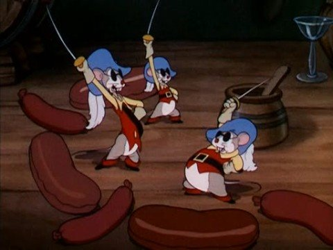 The Three Blind Mouseketeers - Disney's silly symphony (1936)