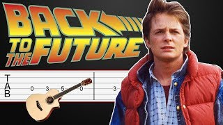 Back to the Future - Guitar Tabs Tutorial thumbnail