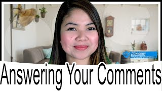 [00kidney Vlog] Answering Your Comments!