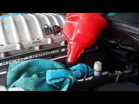 How to change oil in a Hellcat (Dodge Challenger/Charger SRT Hellcat) Big Blue