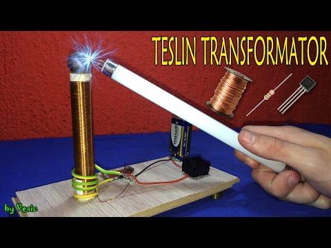 Kako napraviti Teslin Transformator  ( tesla coil )