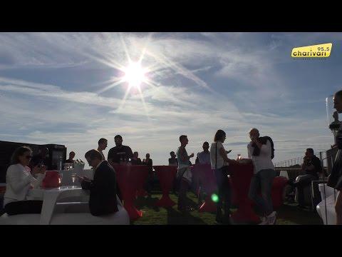 Erste 95.5 Charivari rooftop Party 2015 im KARE Kraftwerk