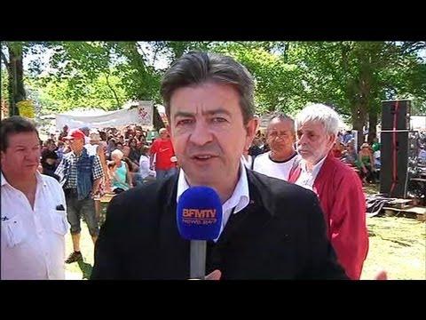"""Mélenchon demande l'asile politique pour Snowden, un """"homme bienfaiteur"""" - 30/06"""