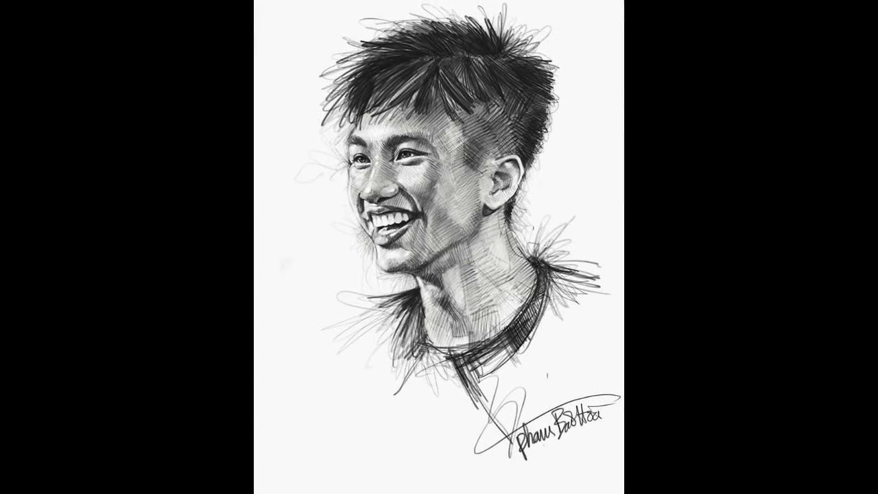 Bộ tranh vẽ tay cực đẹp dành cho các cầu thủ U23 Việt Nam