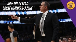 How the Lakers Beat Miami's 2-3 Zone