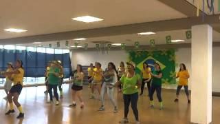 ACM Alphaville aula ritmos brasileiros prévia Copa 2014 11/06/