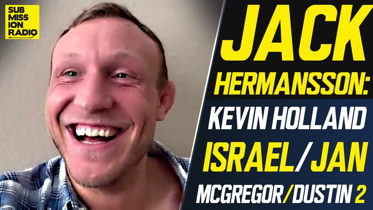 "Jack Hermansson Expects to be ""Annoyed"" By Kevin Holland, Predicts Israel Adesanya vs Jan Blachowicz"