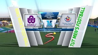 Varsity Football | NWU v TUT | Highlights