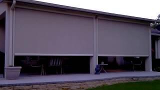 Motorized Retractable Porch Screen