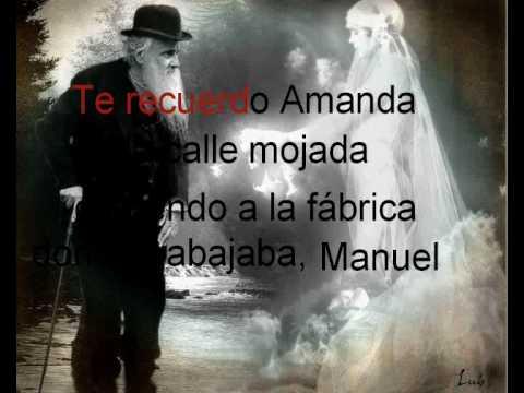 TE RECUERDO AMANDA - VICTOR JARA - TIPO KARAOKE