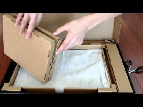 """unboxing-sony-vaio-se-series-15.5""""-laptop-2011"""