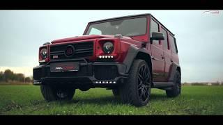Супер Гелик Mercedes Brabus G620 Crazy Color Candy Red