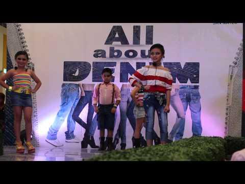 Kamea @ All About Denim Fashion Show | Stripes Wear | SM San Mateo 20150726