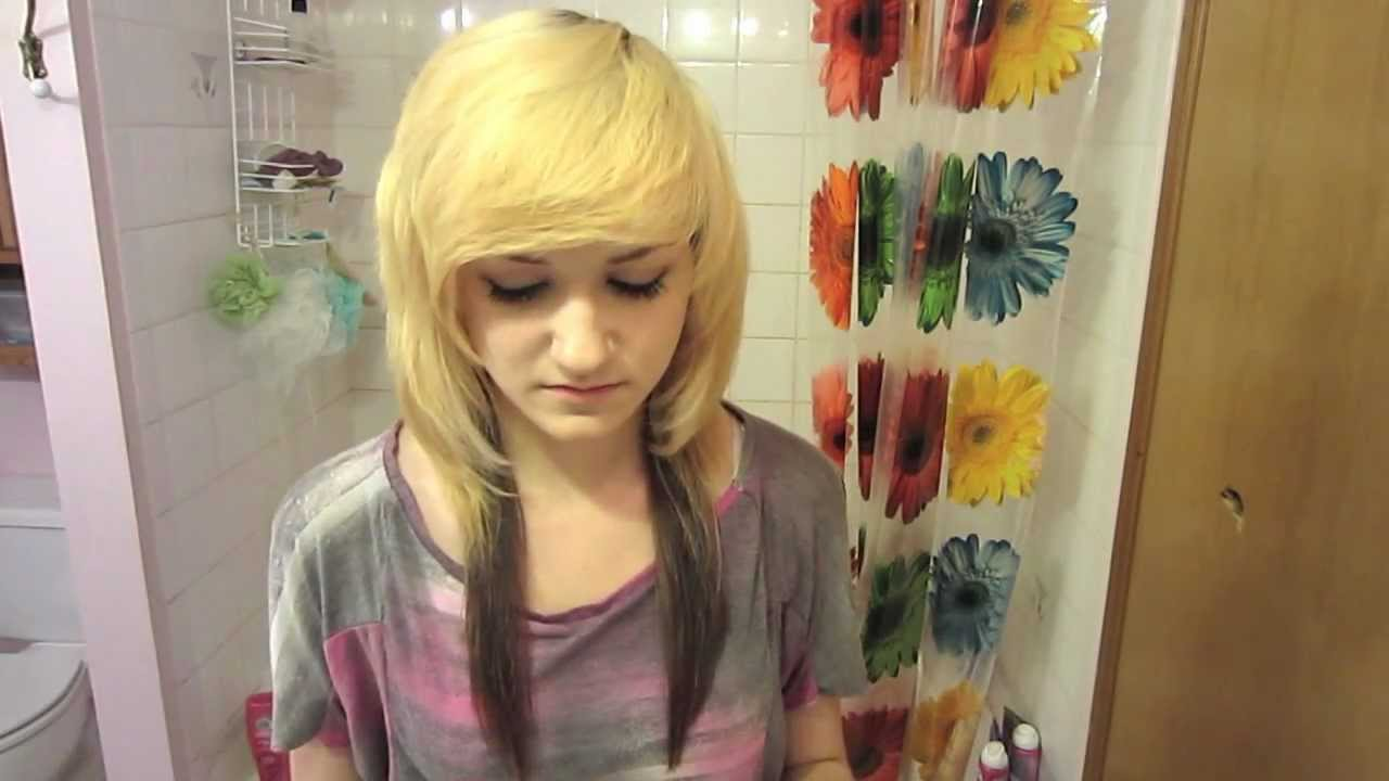 how to get emo bangs (with pictures) - wikihow