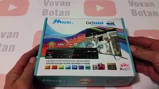 Розпакування DVB-T2 приставки М mini+ dvbt777