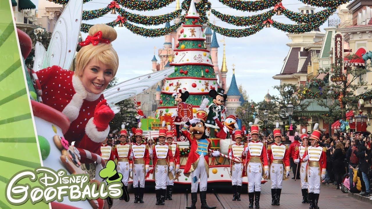 Disneyland Christmas Parade 2021 Disney S Christmas Parade Opening Day Christmas Disneyland Paris 2019 Youtube
