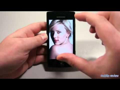 смартфон Samsung I8350 Omnia W.mp4