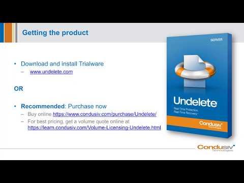 Undelete Software - Convenient File Protection For Windows