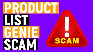 Is Product List Genie A Scam? Watch This BEFORE You Buy