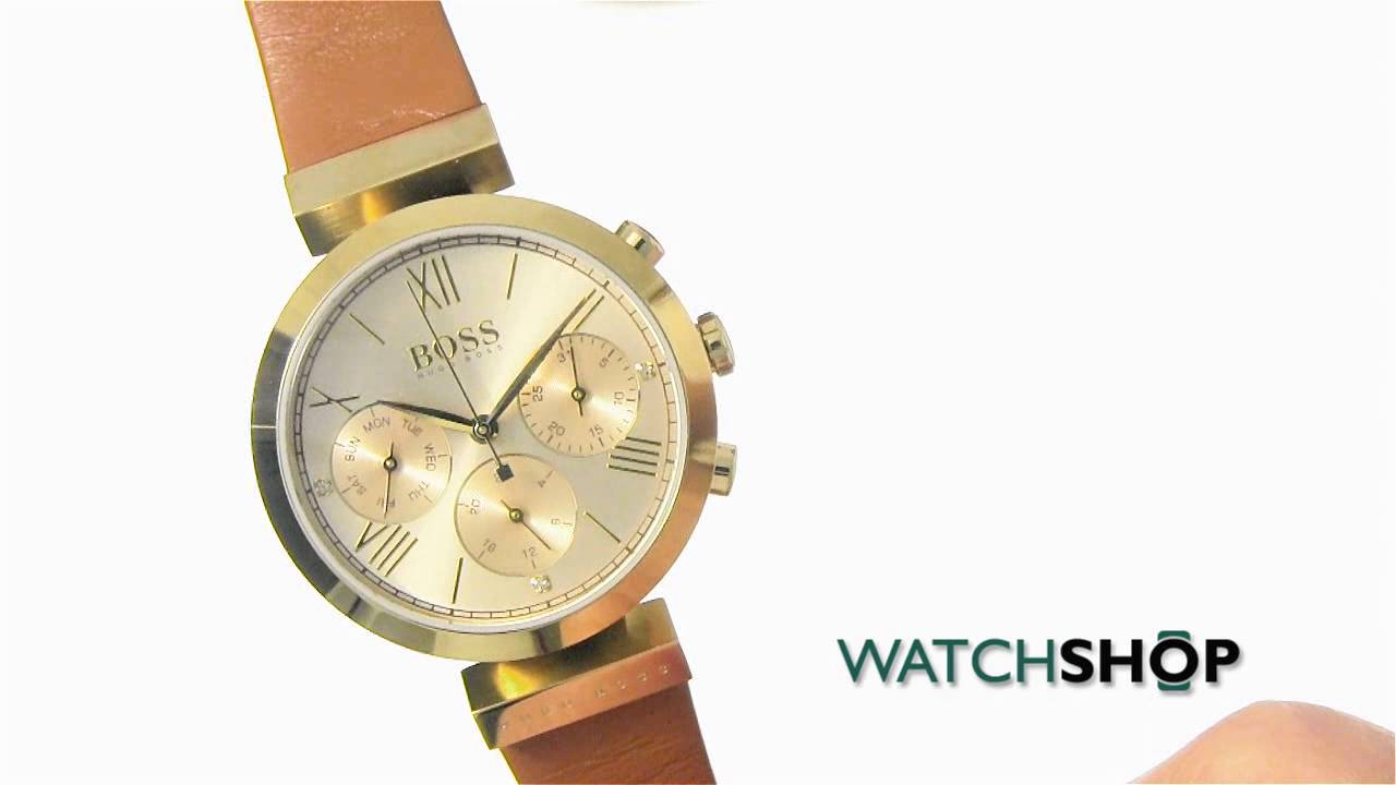 9d54b9888f4d Hugo Boss Ladies  Classic Sport Watch (1502396) - YouTube