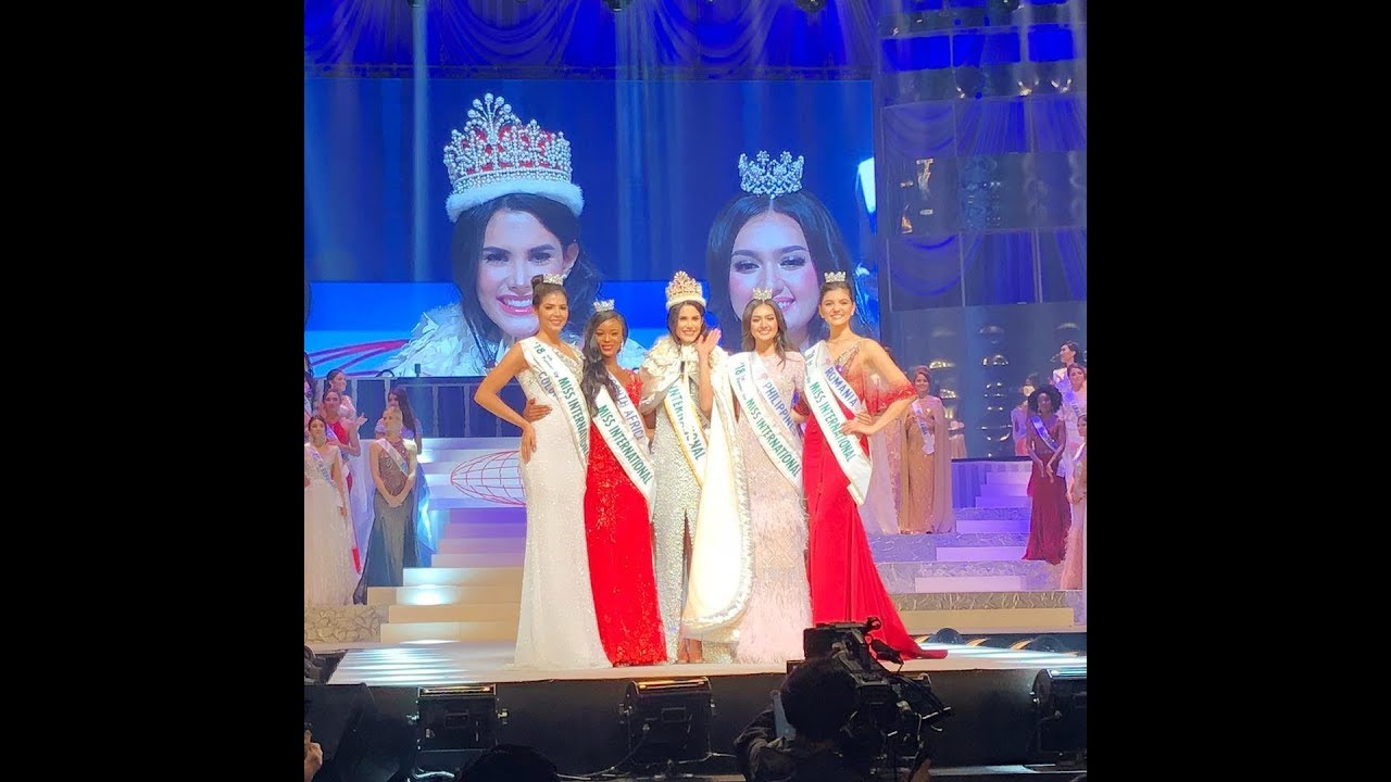 VENEZUELA GANA 8va Corona en el MISS INTERNATIONAL 2018