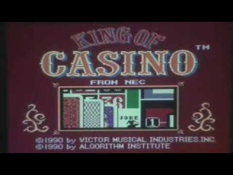 King of Casino Review for the Turbografx-16 TRAILER