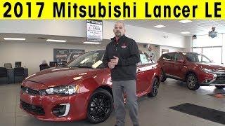 2017 Mitsubishi Lancer LE Walkaround & Details