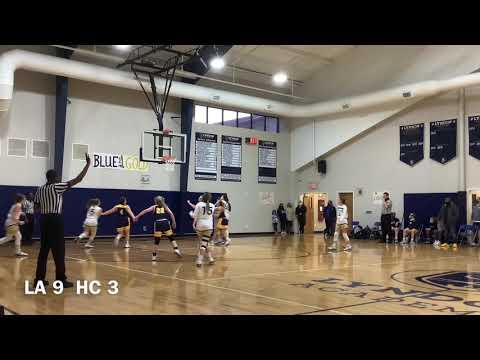 Lyndon Academy v. HC OLIVIA FALVEY c/o '22 highlights