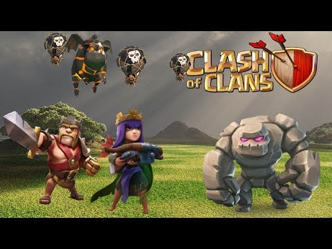 TH9 Hybrid LaLoon - Easy 3-Star vs Common Bases | Clash of Clans