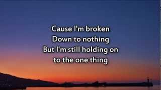 Matthew West - Strong Enough - Instrumental with lyrics