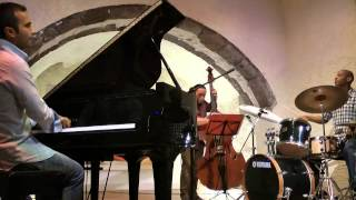 "Georgios Tsolis trio ""giant steps"" live at Megaro Gyzi Festival 2014"