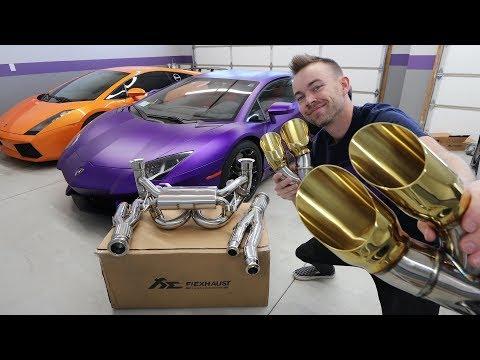$12,000 Exhaust for my Lamborghini Aventador!!