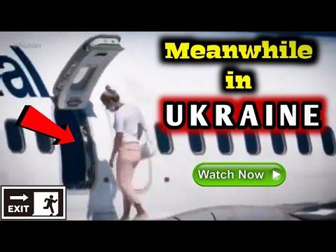 ✅Exit from Aircraft Emergency Window at UKRAINE | Charter Flight PS6212✈ Turkey to Ukraine| B737-86N