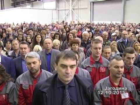 Otvaranje fabrike Vibac 12.10.2015.
