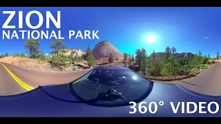 Zion National Park - Scenic Drive - 360° Video