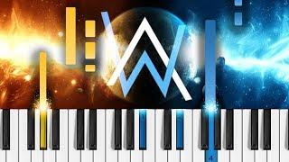 Alan Walker - All Falls Down (feat. Noah Cyrus & Digital Farm Animals) - Piano Tutorial