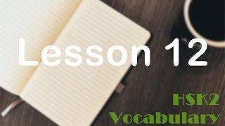 Basic 300 Chinese words for beginner - Lesson 12 飞机✈ - HSK2 vocabulary builder