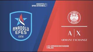 EuroLeague 15. Hafta: Anadolu Efes - Ax Armani Exchange Milan
