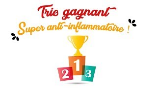 1.2.3 TRIO GAGNANT + FORT ➠ ANTI-INFLAMMATIONS ➠ ANTI-BOUTONS !!!