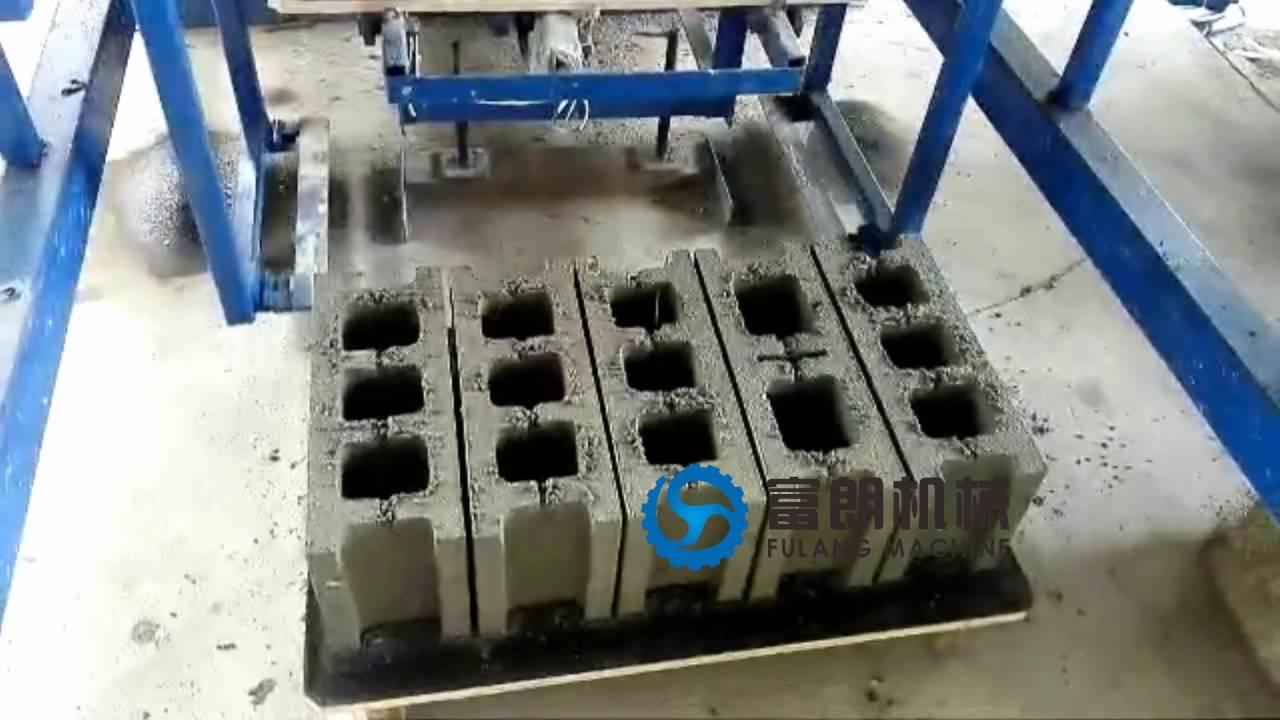 QTF4-25 automatic hydraulic hollow block making machine in ...